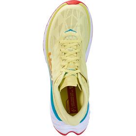 Hoka One One Carbon X 2 Shoes Men luminary green/hot coral
